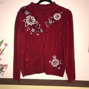 Alfred Dunner pullover sweater petite Size MP